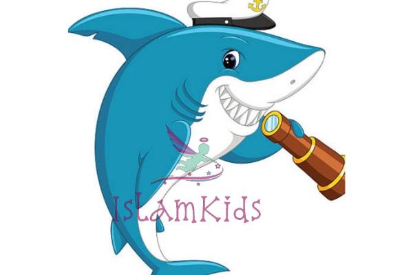 سمكة القرش كرتون للاطفال
