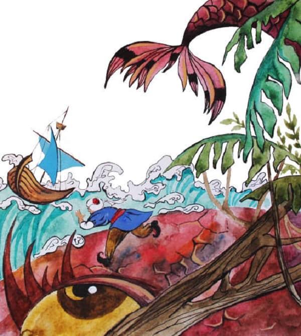قصة السندباد البحري للاطفال ملخصة